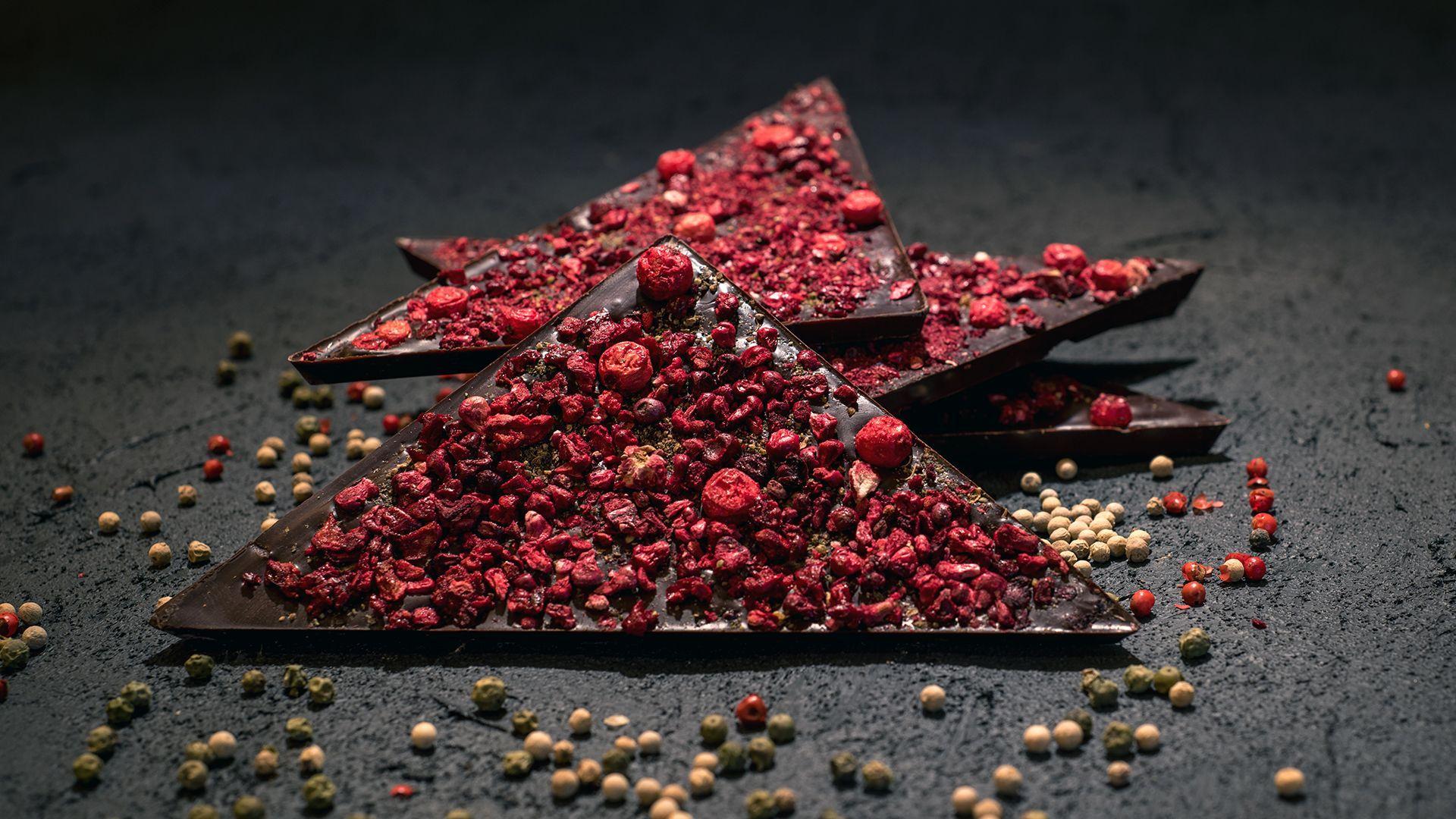 Aguara chocolate dedicated to wine Cabernet Sauvignon