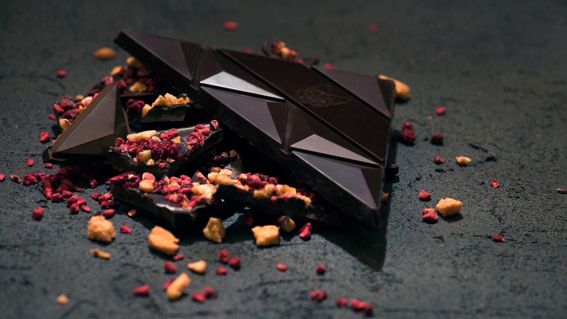 Aguara chocolate dedicated to wine Merlot