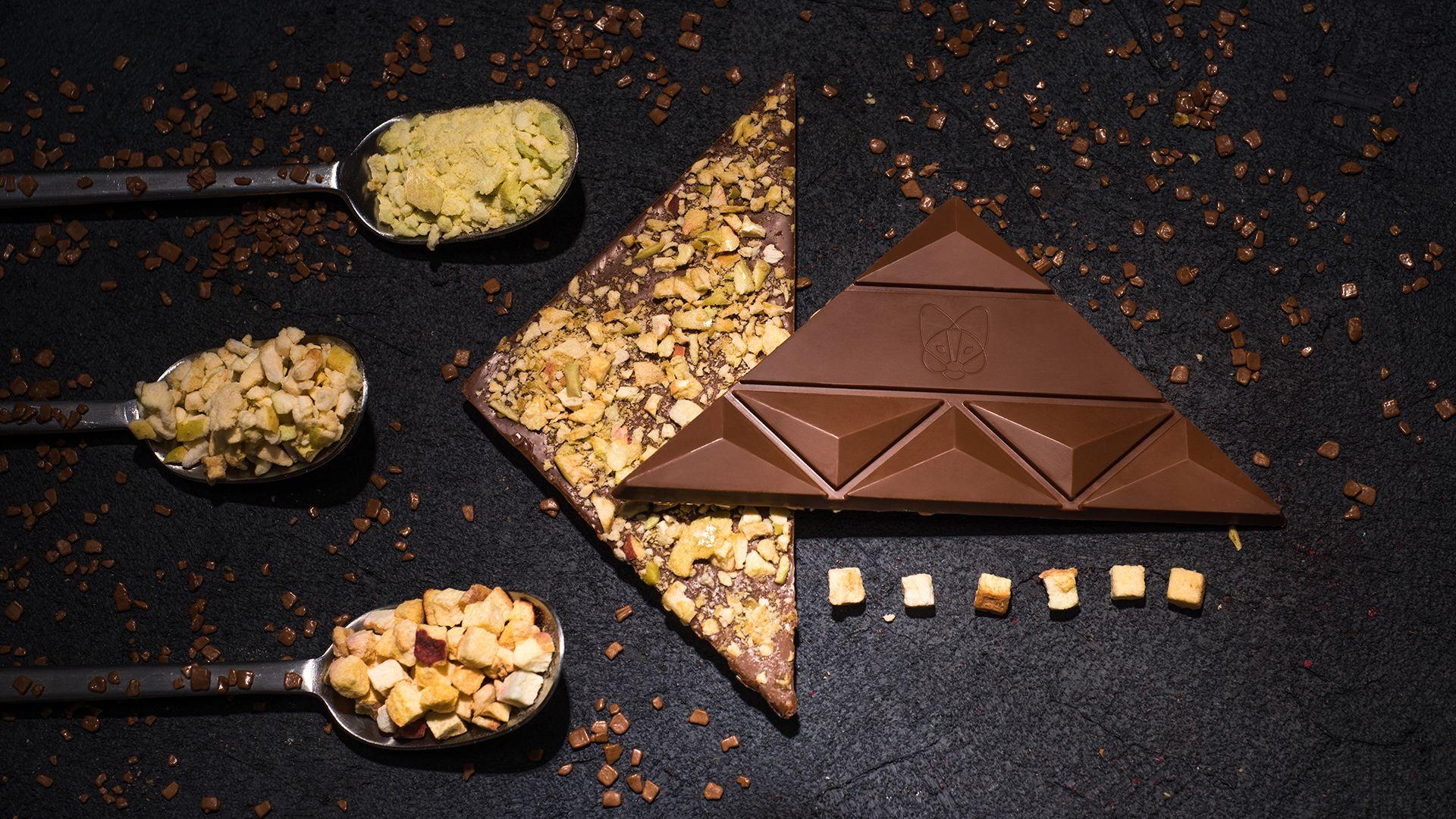 Aguara chocolate dedicated to wine Morava