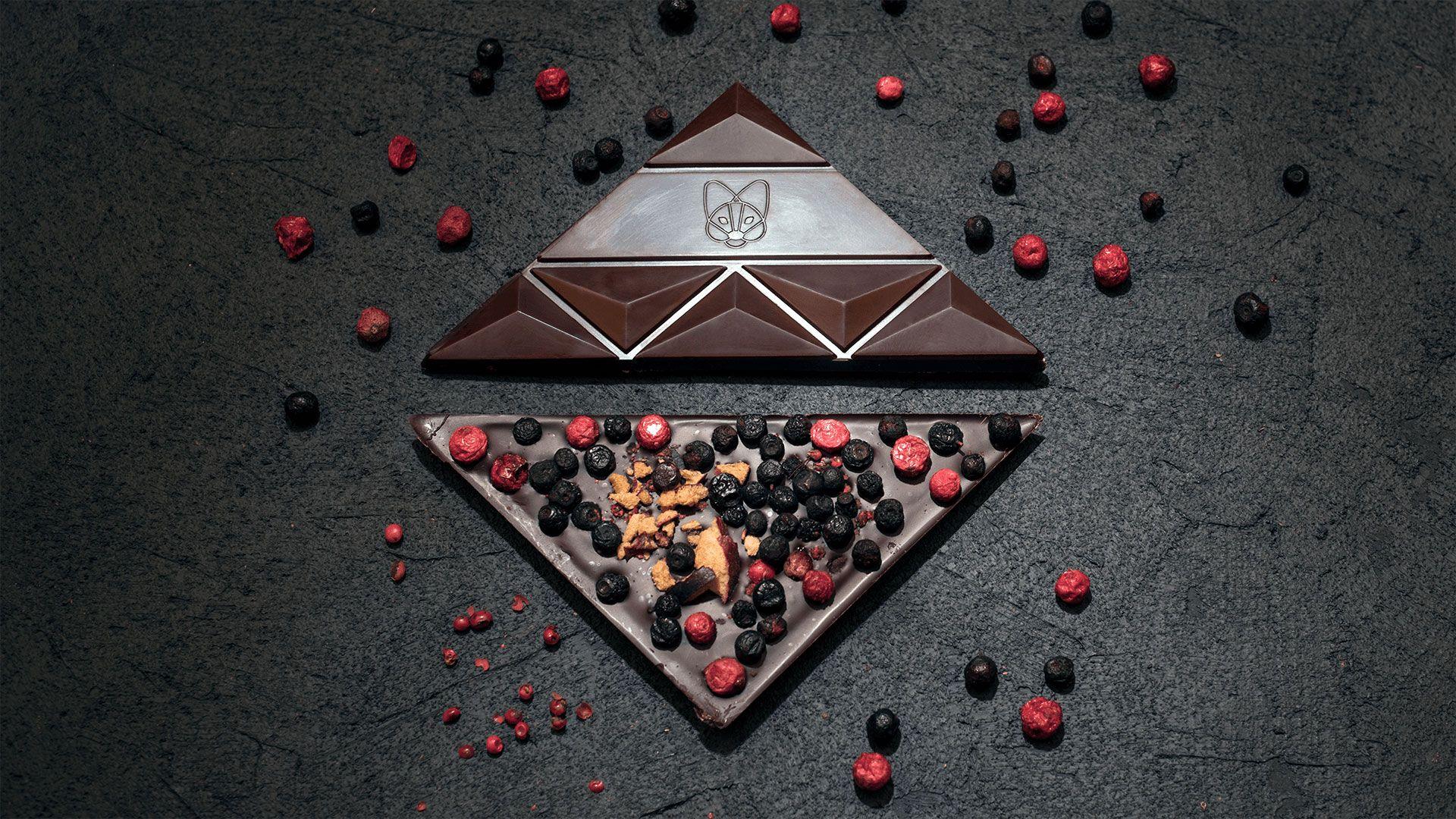 Aguara chocolate dedicated to wine Prokupac