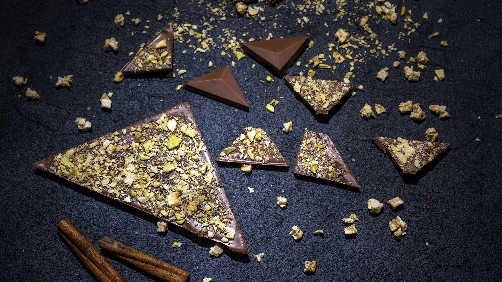 Aguara chocolate dedicated to wine Sila