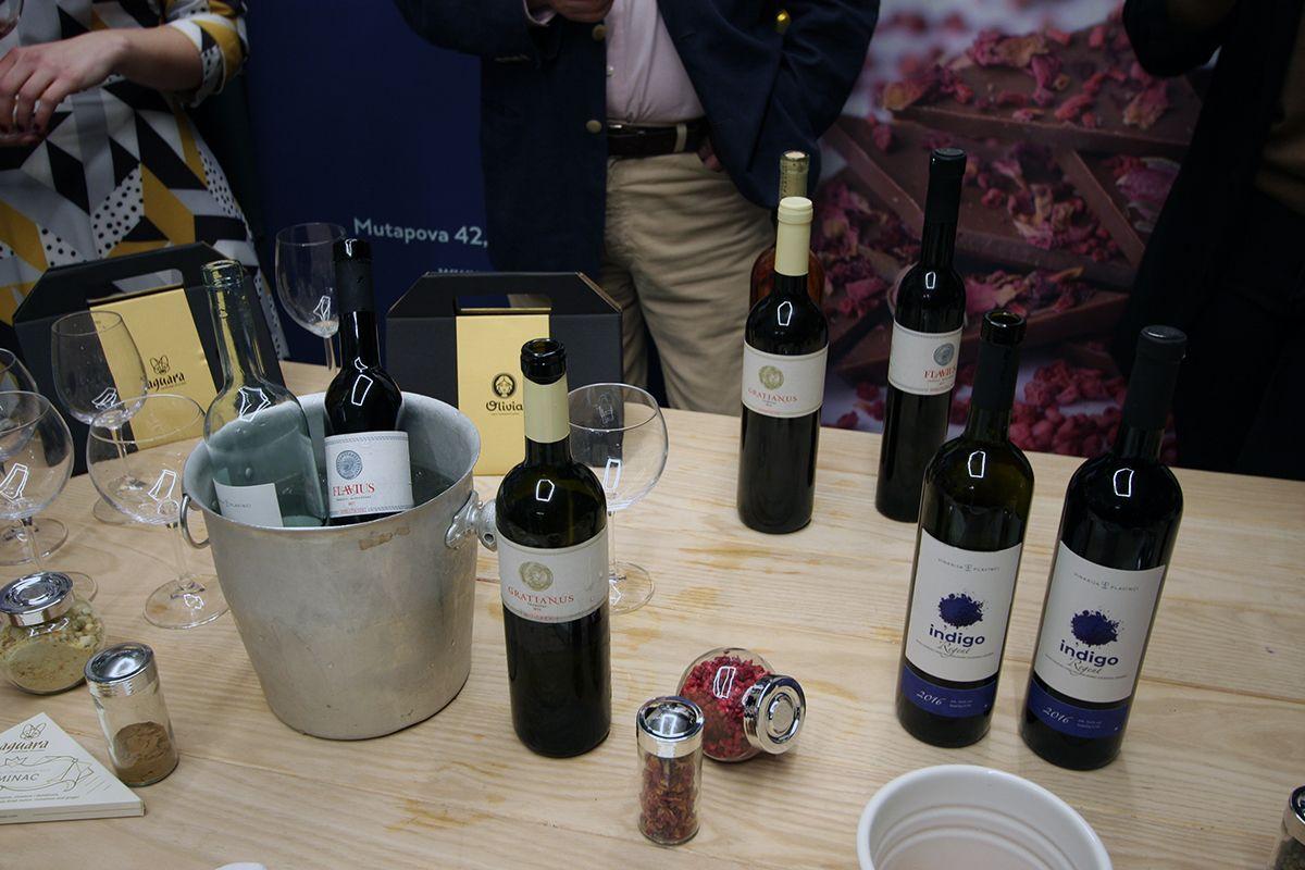 Aguara čokolade i organska vina, Olivia Market