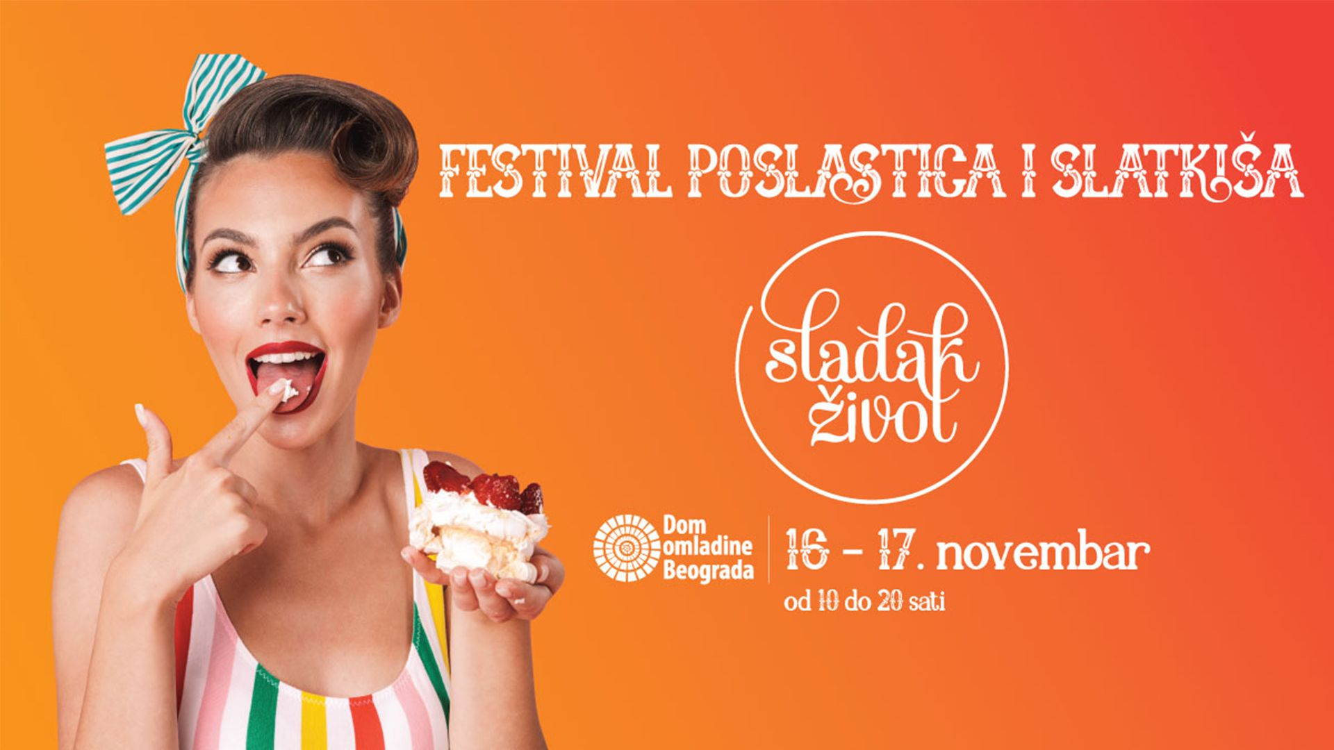 Festival Sladak život, novembar 2019.